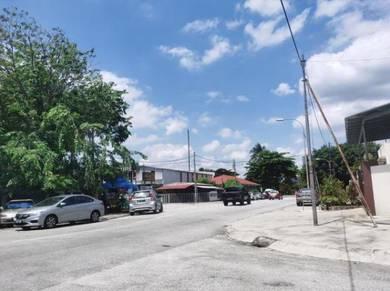 (CORNER) Taman Kepong 1sty Terrace House FREEHOLD Kepong Baru HOT FAST