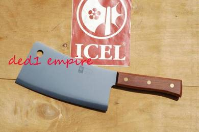 ICEL - pisau tetak 1.1kg (hulu KAYU JATOBA)