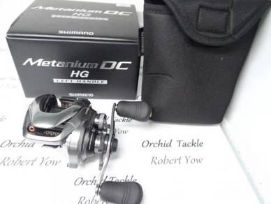 Shimano Metanium DC HG left fishing pancing reel