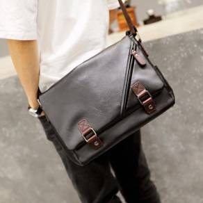 91224b45711e All Black Shoulder Bag - Bags   Wallets for sale in Malaysia - Mudah.my