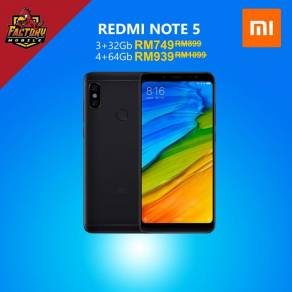 Xiaomi NOTE 5 PRO 3/4GB Ram 32/64GB Rom My Set