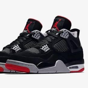 competitive price 4826a 1a9a5 Nike Air Jordan 4 Bred