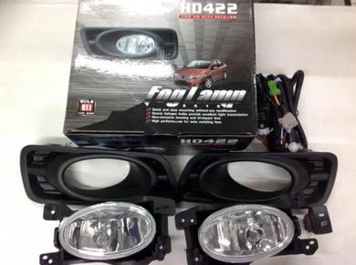 Honda City 09 - 2012 Oem Fog Lamp Light bodykit