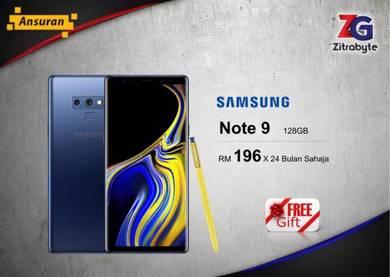 Samsung Galaxy Note 9 128GB (RM196 Bulanan)