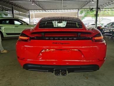 Porsche CAYMAN 718 2.0L (A)