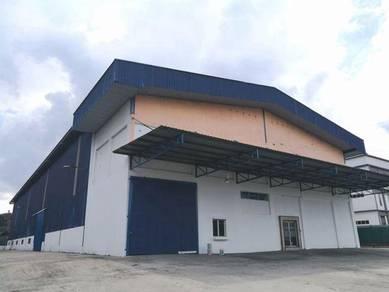 Detached Warehouse Factory Kg Buru Subang (22000 Sq.Ft.)