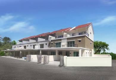 OC ready 3 Storey Terrance House Balik Pulau