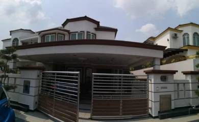 Cp8 Cheras Perdana Semi-D Fully Renovated + Fully Extended Backyard