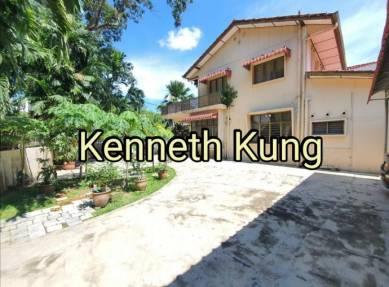 Cheaper Semi D Big Land 4800sf Jalan Midland Double Storey Pulau Tikus