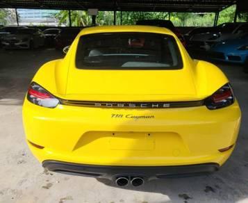 Porsche CAYMAN 2.0 718 Full Spec