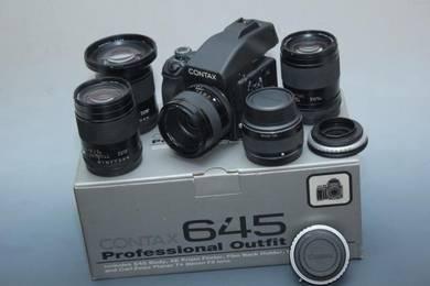 Contax 645 lenses on Canon EOS RP