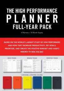 Planner for High Performer, Perancang terbaik