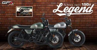 GPX Legend 150S Cafe Racer Special Raya Promotion