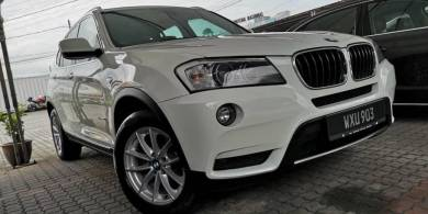 BMW X3 2.0 (A) Sport Turbo Facelift Year Made 2012