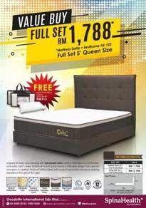 Offer divan bed F.O.C PILLOW