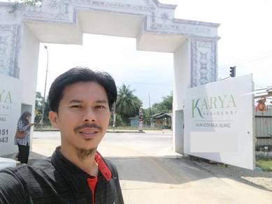 Freehold Karya Residensi Double Storey Klang {FREE GIFT Menanti anda}