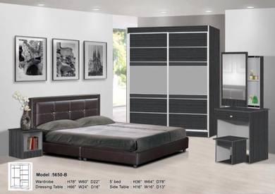 5 Pcs Bedroom set (5650-B) 12/1