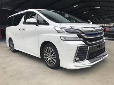 Toyota VELLFIRE 2.5 Z G-EDITION (A)