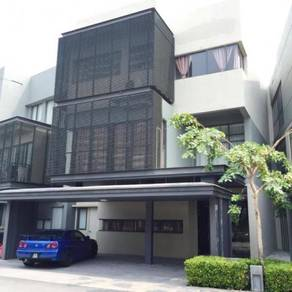 (CHEAPEST FULLY FURNISHED) 3 Storey Link Villa, Mirage by the Lake