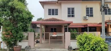 Taman Sutera Wangi End Lot Double Storey, Batu Berendam Melaka
