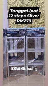Aluminium ladder (foldable 12,16 and 20 steps)