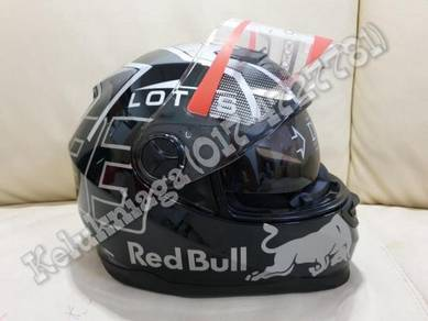 Original Lotus Red Bull Marquez Design Helmet