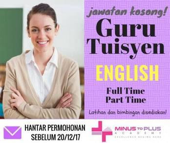 Guru tuisyen english (tutor)