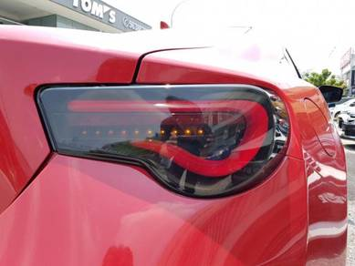 Toyota FT86 BRZ valenti facelift Tail lamp light