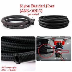 Nylon Braided Hose oil cooler (AN6/AN10)
