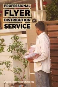 House to House Flyer/Brochure/Leaflet Distribution