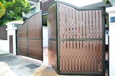 Autogate 925w auto gate murah servis johor senai
