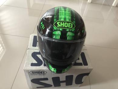 Shoei XR-1100 Green Black Original