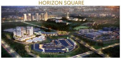 New Launch [Horizon Suare], From USA outlet, 2 Sty Shop Lot, Facing EL