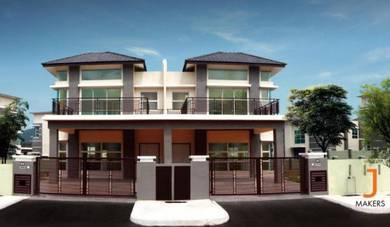 New 2 storey semi-d - modern, Salak Tinggi