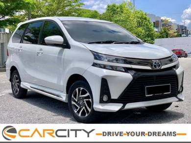 Y 2021 Toyota AVANZA S 1.5 (A) GENUINE L/MILS F/S