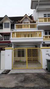 Sentul Dato senu , Two and half storey terrace house rent