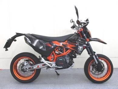 Ktm 690 smc r black&orange unreg 2016