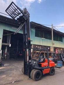 Japan Direct Import 3.5 Ton Diesel Forklift Hinged