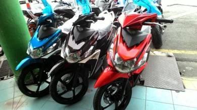 Yamaha Ego Solariz 125 lowdeposit