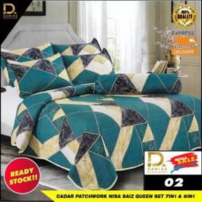Cadar Patchwork Premium NISA 7in1 / 6in1 Set Queen