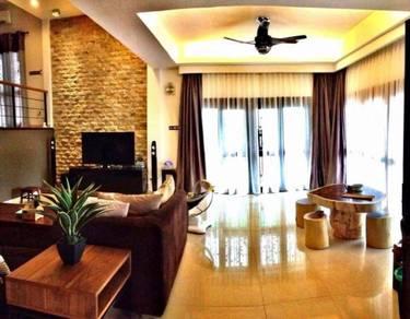 Ampang Ukay Perdana 2.5 Storey Semi D ID Design Below 300K Must View