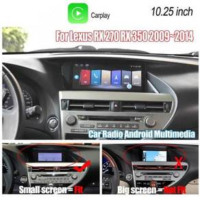 Lexus RX 270 RX 350 car android 8.0 palyer
