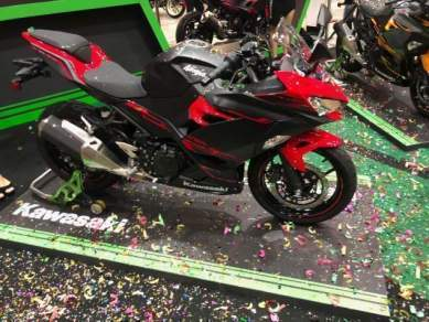 New 2018 kawasaki ninja 250