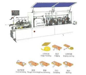 Edge banding machine mesin bander gam glue pvc abs