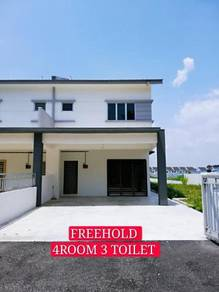 NEW 2STY SEMI-D at KLEBANG, FULL LOAN , FREEHOLD
