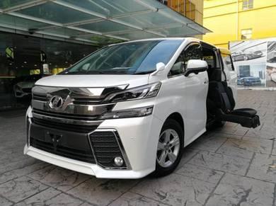 Toyota vellfire 2.5 z welcab surround cam unreg 15
