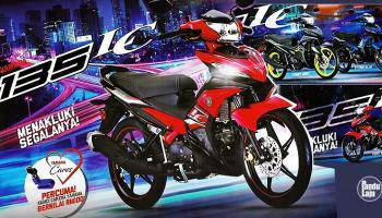 Yamaha 135lc Promosi year end sale