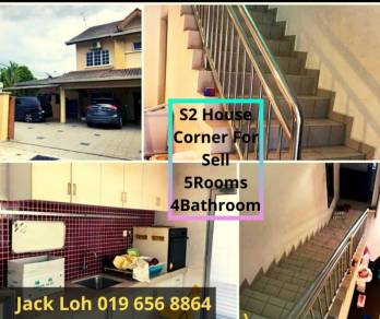 Seremban 2 Double Storey Corner for sell at Garden Avenue R