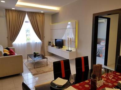 Completed Apartment Menggatal Area