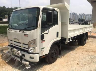 Isuzu 3 ton lorry npr pto lorry